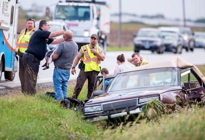 4 children among accident injuries