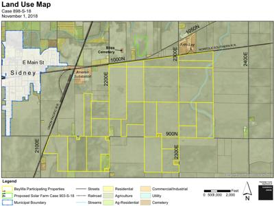 Second Champaign County panel OKs proposed large solar farm near Sidney