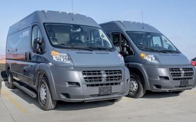 Amazon vans will hit road in C-U today