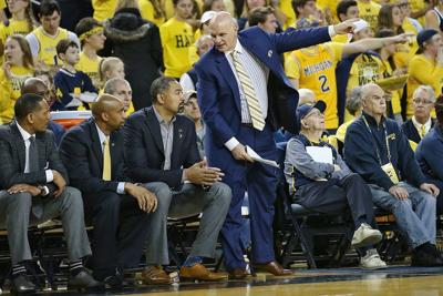 Michigan coaching staff