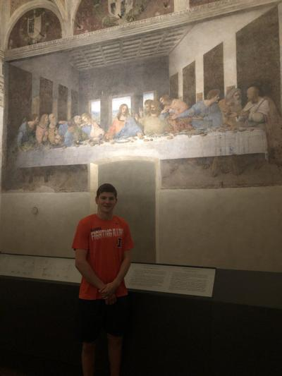 Zach Griffith Italy trip