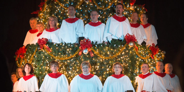Living Christmas Tree.Living Christmas Tree Cantata 2012 Local News News