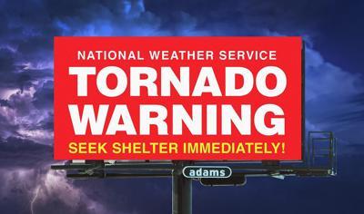 Nine digital billboards in Champaign to display tornado warnings