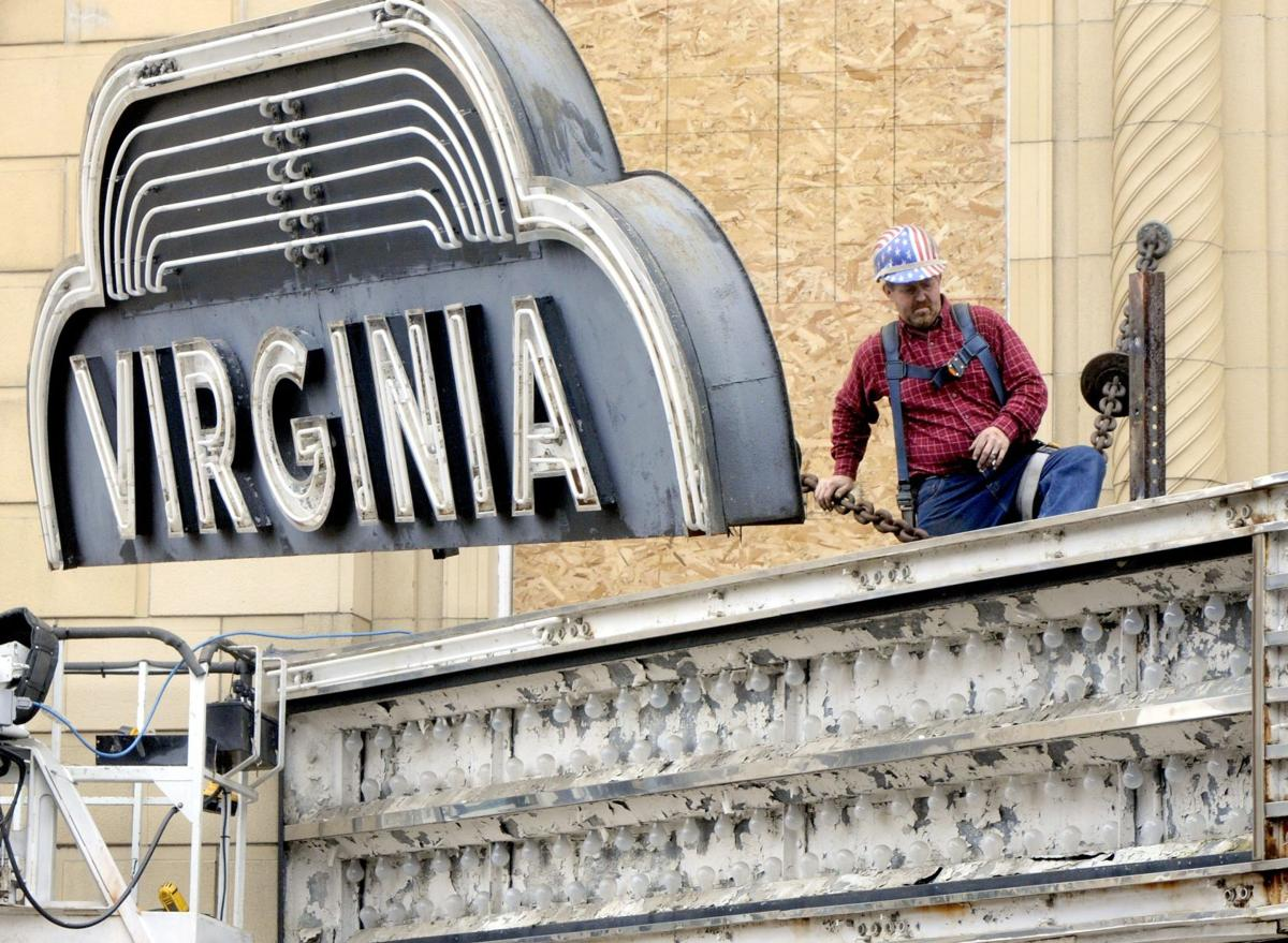 Marquee comes off the Virginia