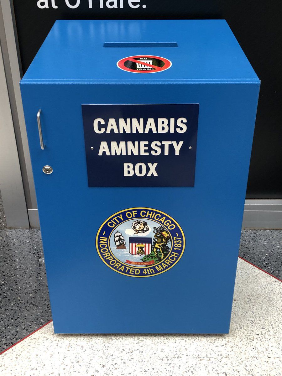 JA cannabis amnesty box