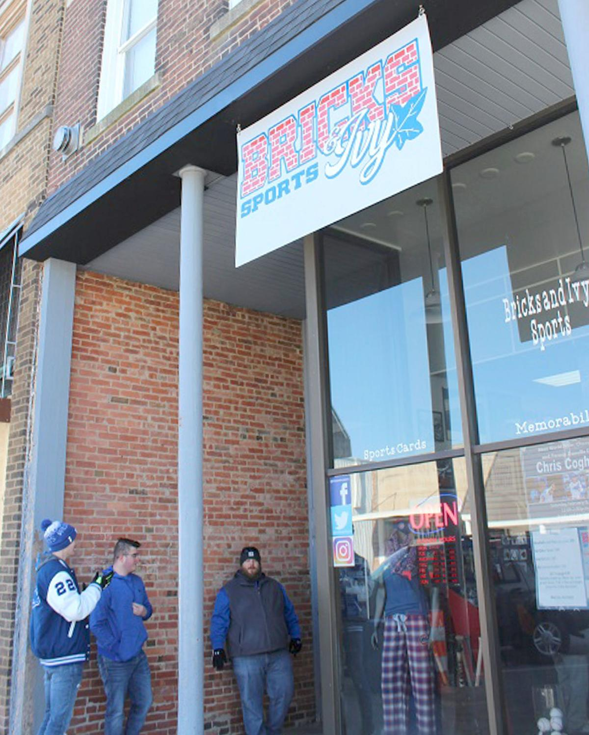 Hoopeston's Bricks and Ivy Sports is a little shop of star power