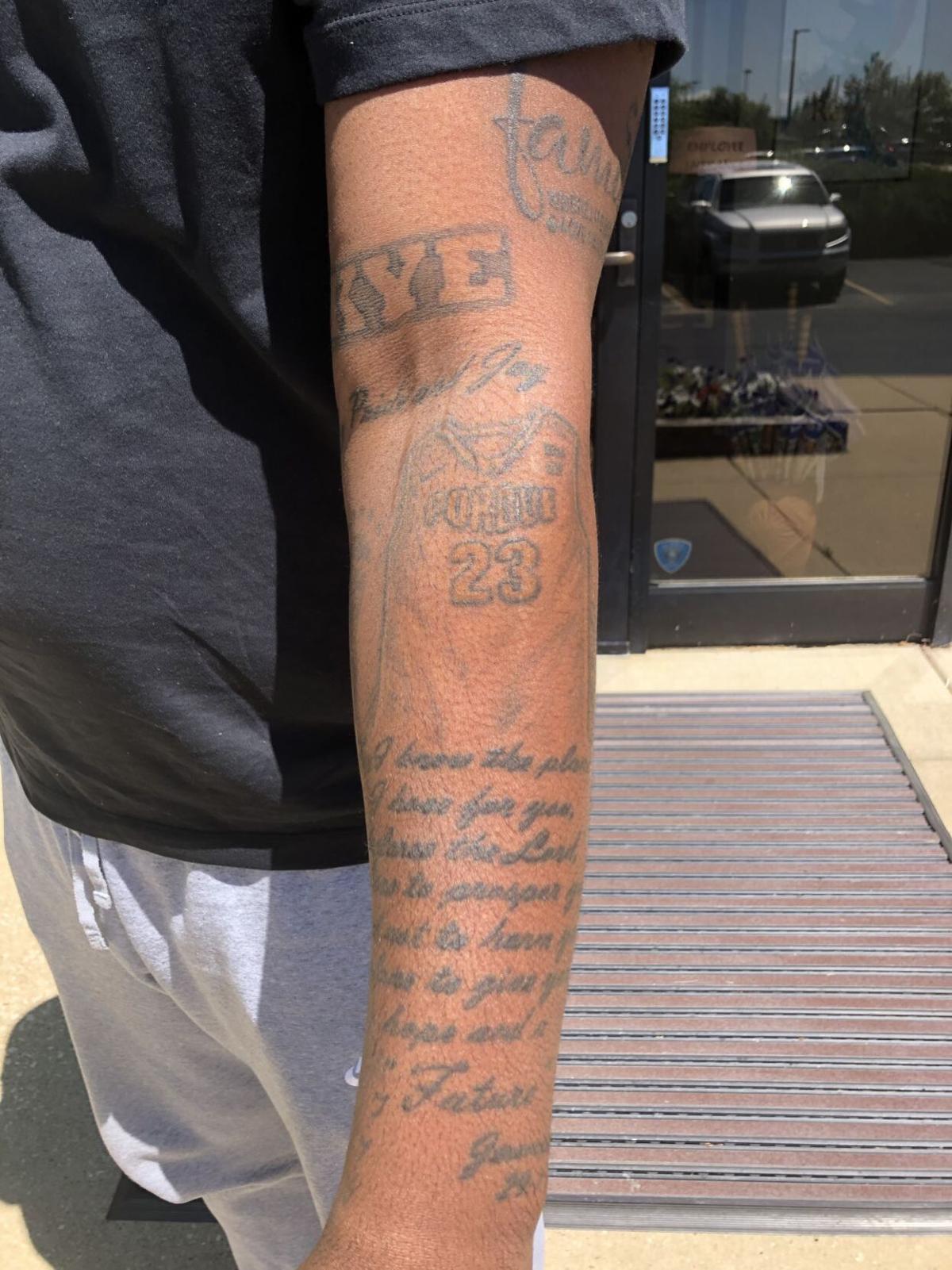 Jay Simpson tattoos