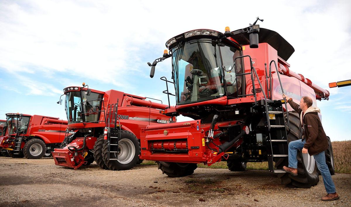 How much is that combine in the window? | News | news