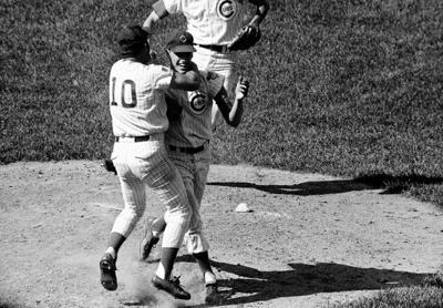 Ken Holtzman Santo Cubs no-hit