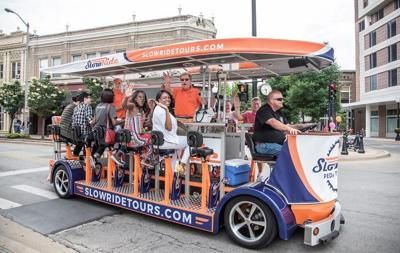 About those pedal pubs ...