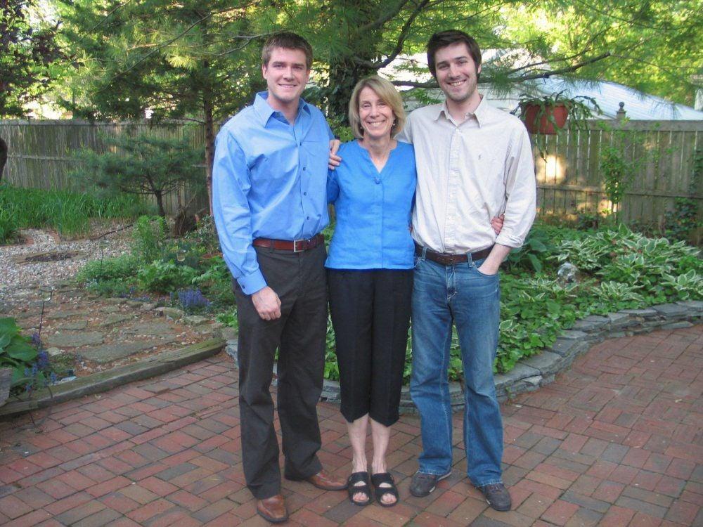Jamie Kruidenier and sons
