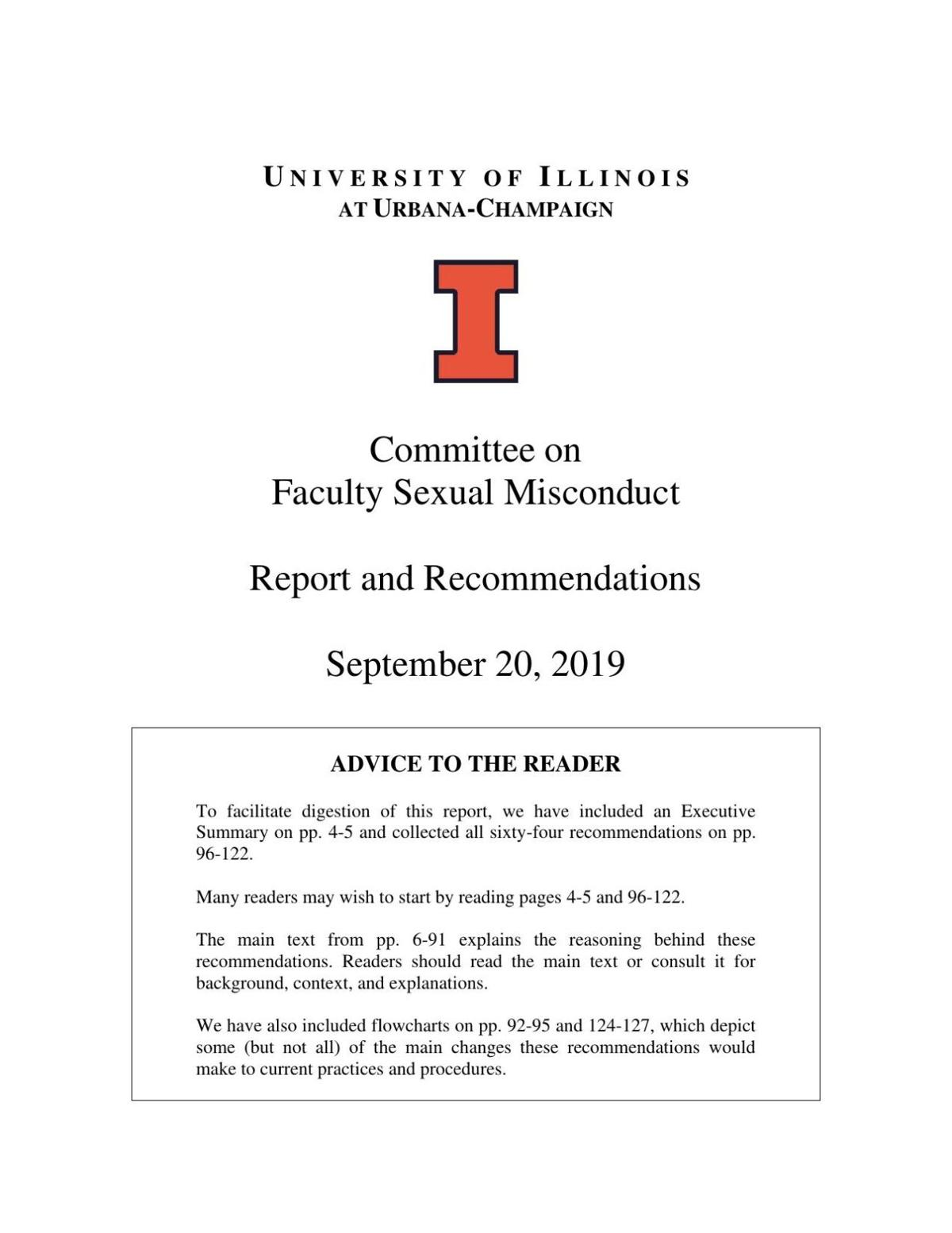 PDF: UI committee on faculty sexual misconduct final report