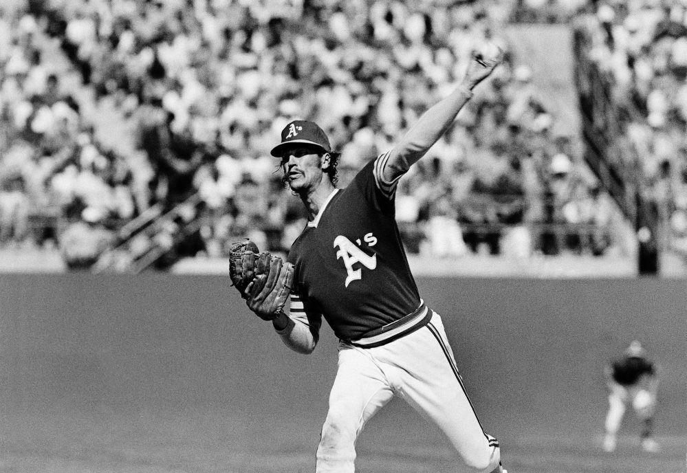 Ken Holtzman Athletics 1973 Wo