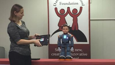At Danville schools, a robot's touch opens doors of communication
