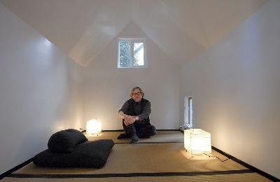 Ui Prof Builds Meditation Hut For His Wife In Backyard Local