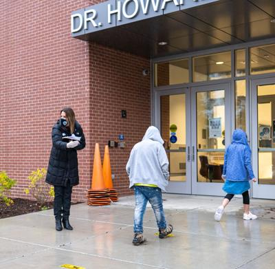 Dr. Howard first day