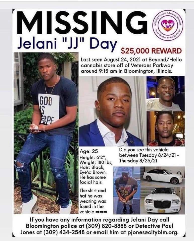 Jelani Day missing