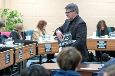 Urbana school board puts superintendent, assistant on paid leave
