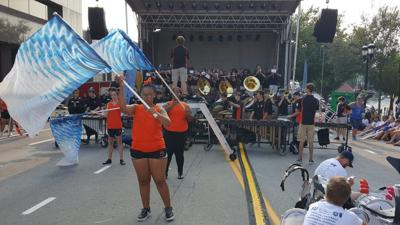 IO Sweetcorn marching band