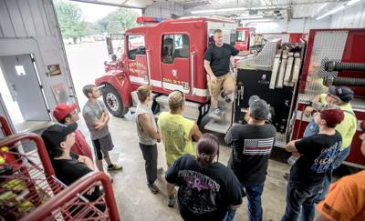 Kickapoo Fire Protection District volunteers excited to show off new station
