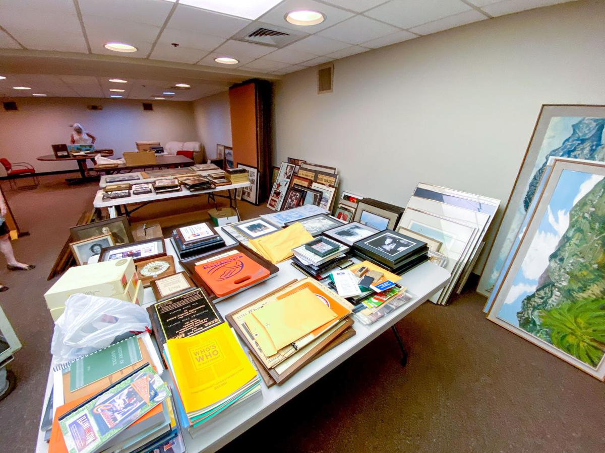 News-Gazette downstairs Champaign Historical Society 2