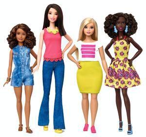 Barbie (finally) gets a body makeover