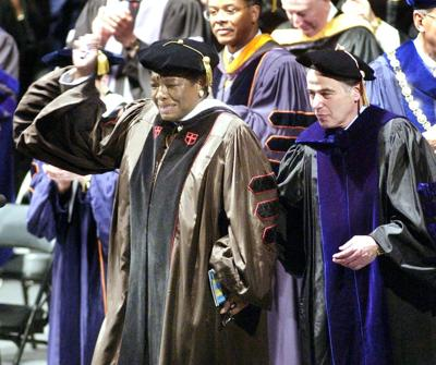 Angelou Urged 2002 Graduates To Shine News News