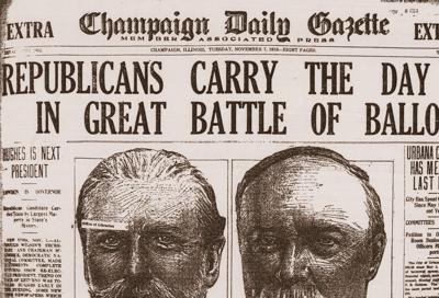 Tom Kacich: Our own 'Dewey Defeats Truman' moment   News   news ...