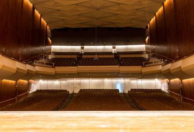 Krannert Great Hall Empty