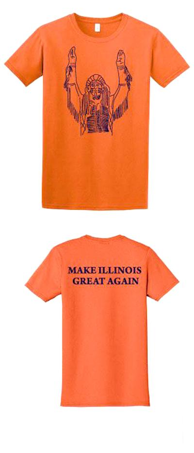 UI files suit over an alum's 'Make Illinois Great Again' T-shirts