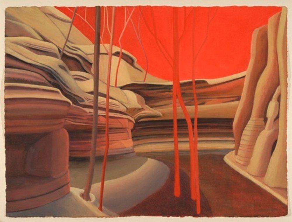 'Red Sky Canyon' Jamie Kruidenier