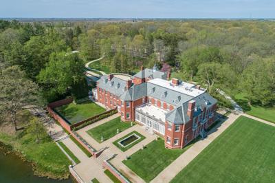 Allerton Mansion Drone