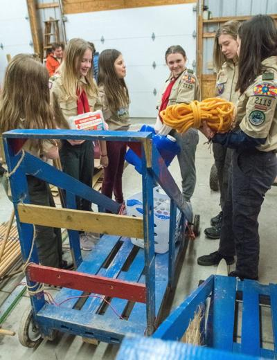 Female Scouts Klondike Derby