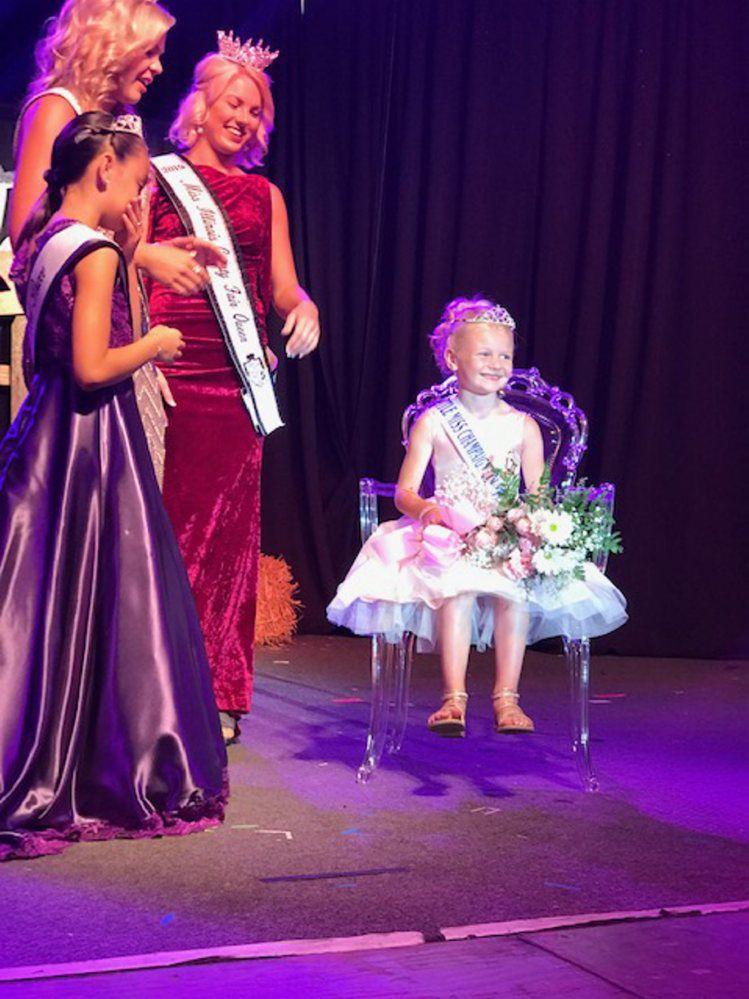 2019 Champaign County Fair Little Miss