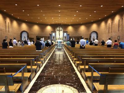 St. Matt's reopening mass