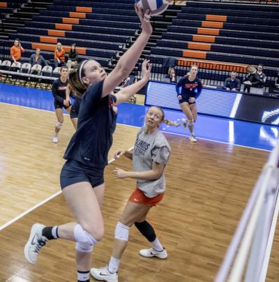 Fleming fits into crucial role for Illini in first year