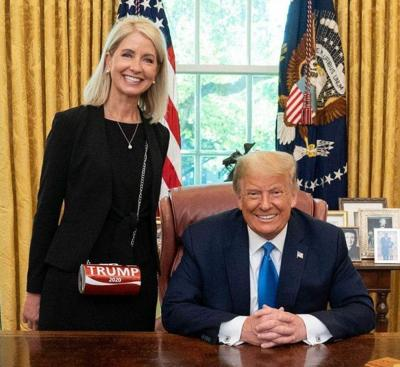 Mary Miller and President Trump