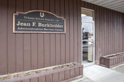 Urbana school district Burkholder Center