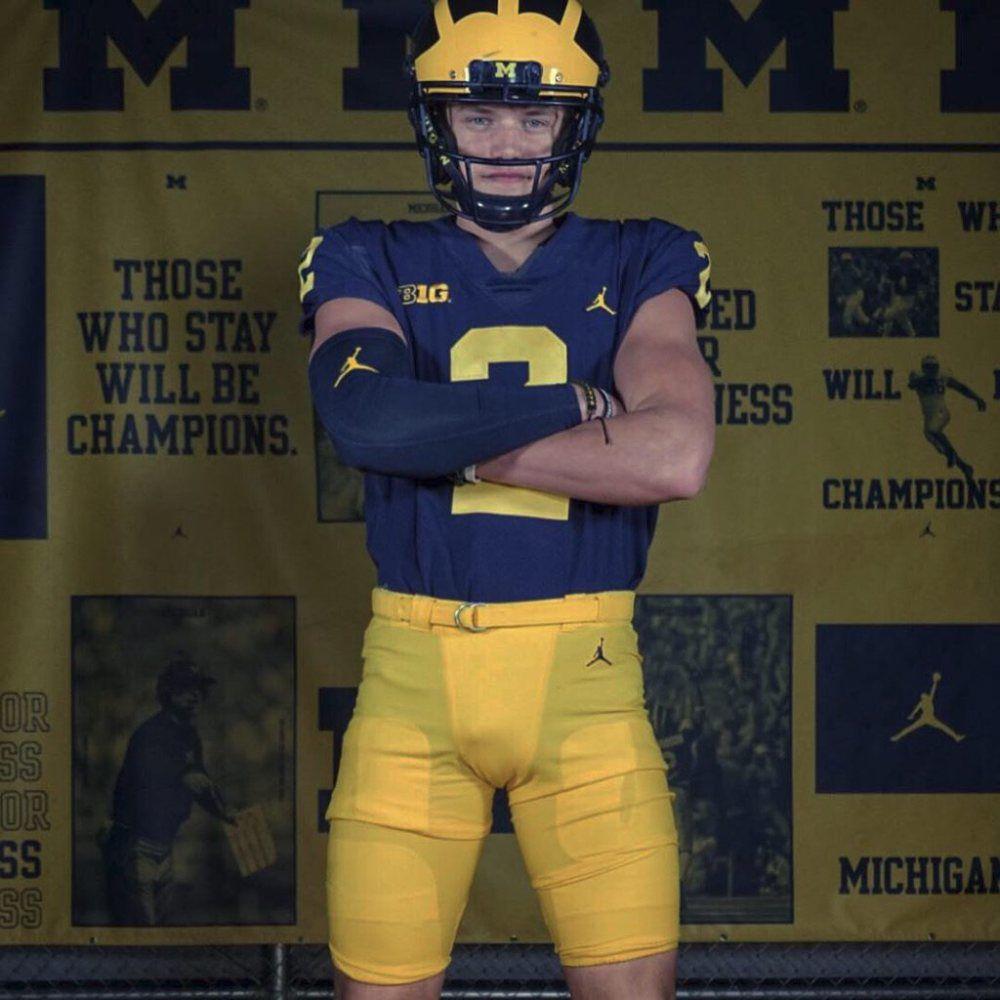 JJ McCarthy POY Michigan