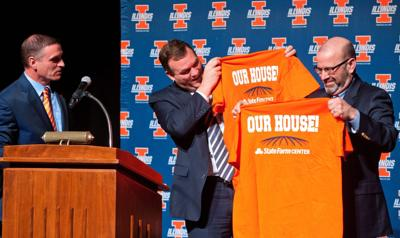 Hall's new name: State Farm Center