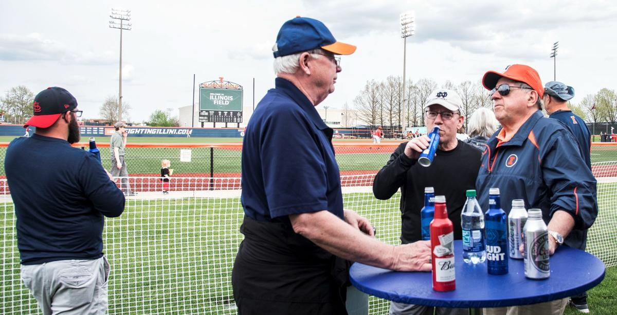 Asmussen   Cheers! Beer idea a sure hit at llinois athletic events