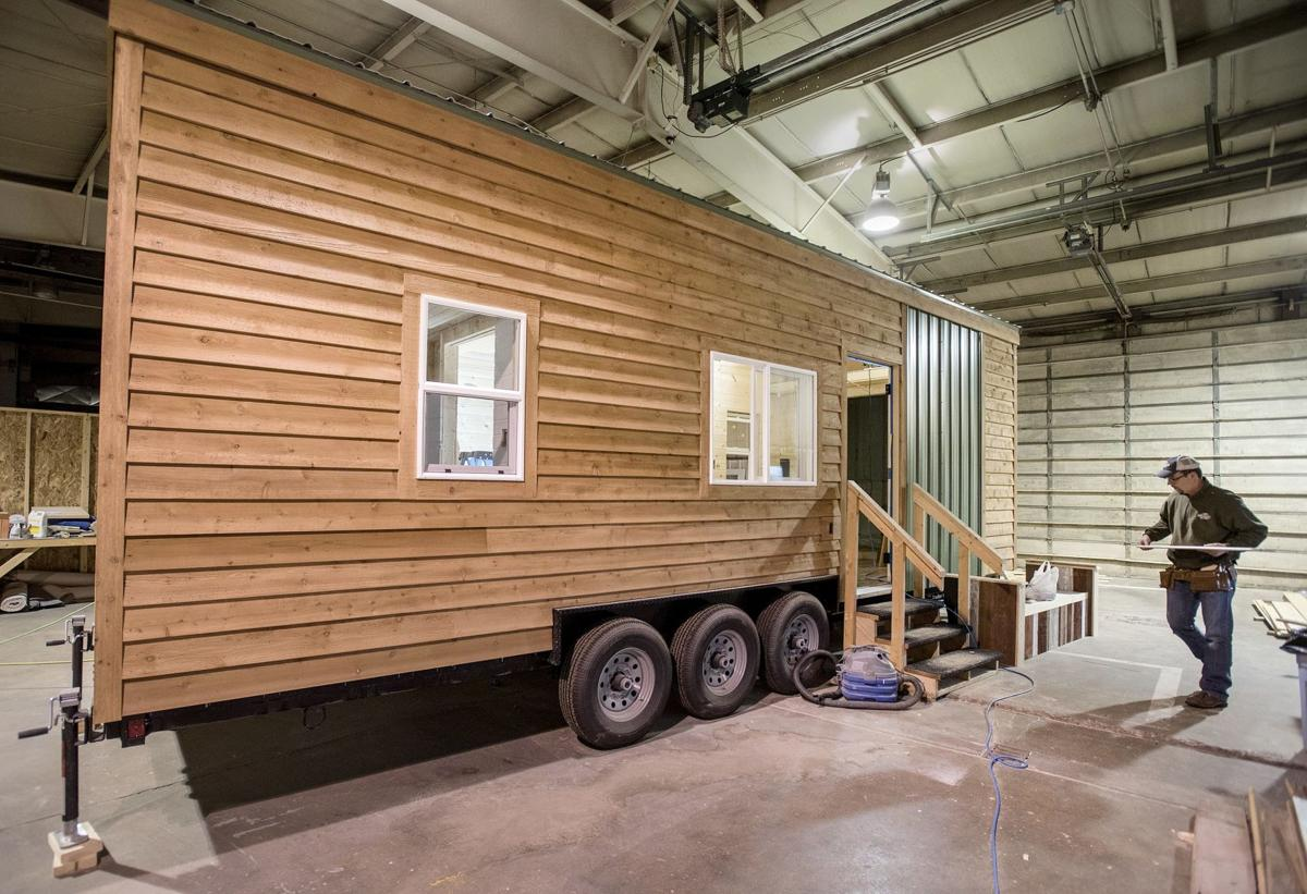 Tom Kacich   Danville couple sees big business in little houses on prairie