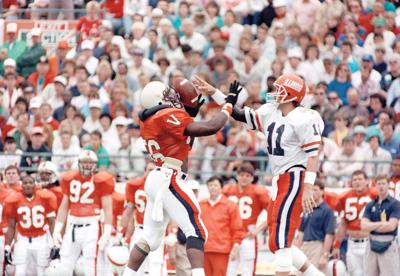 Citrus Bowl Illinois Virginia 1990
