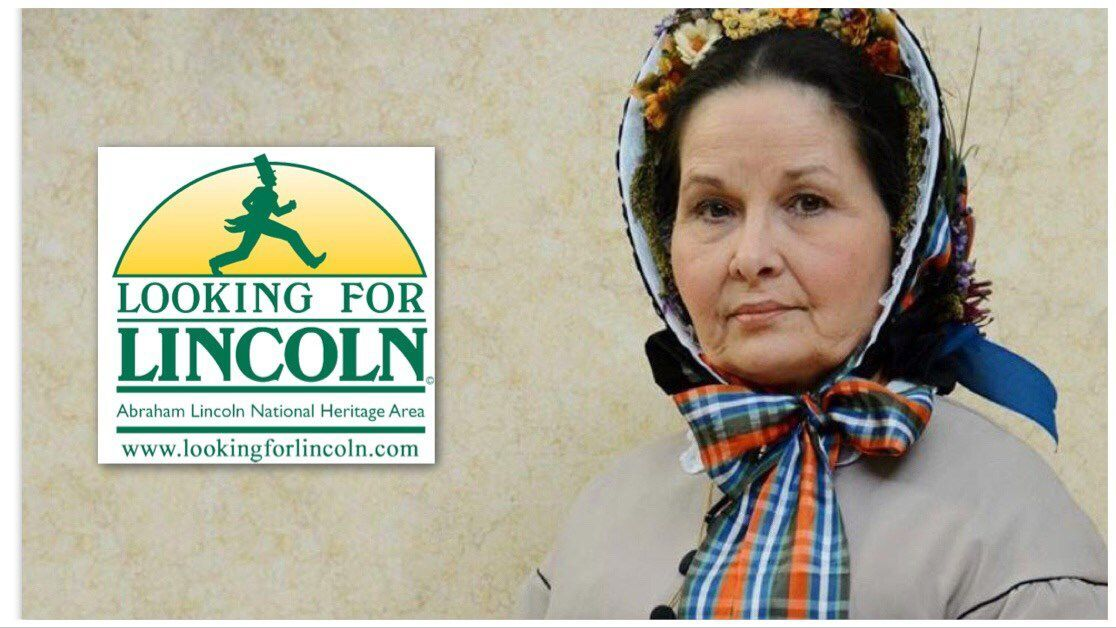 Pam Brown as Mary Lincoln
