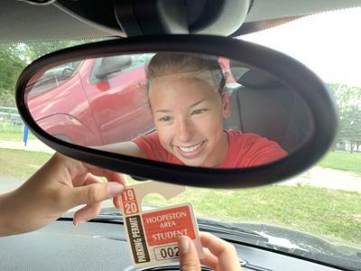 high school parking permits