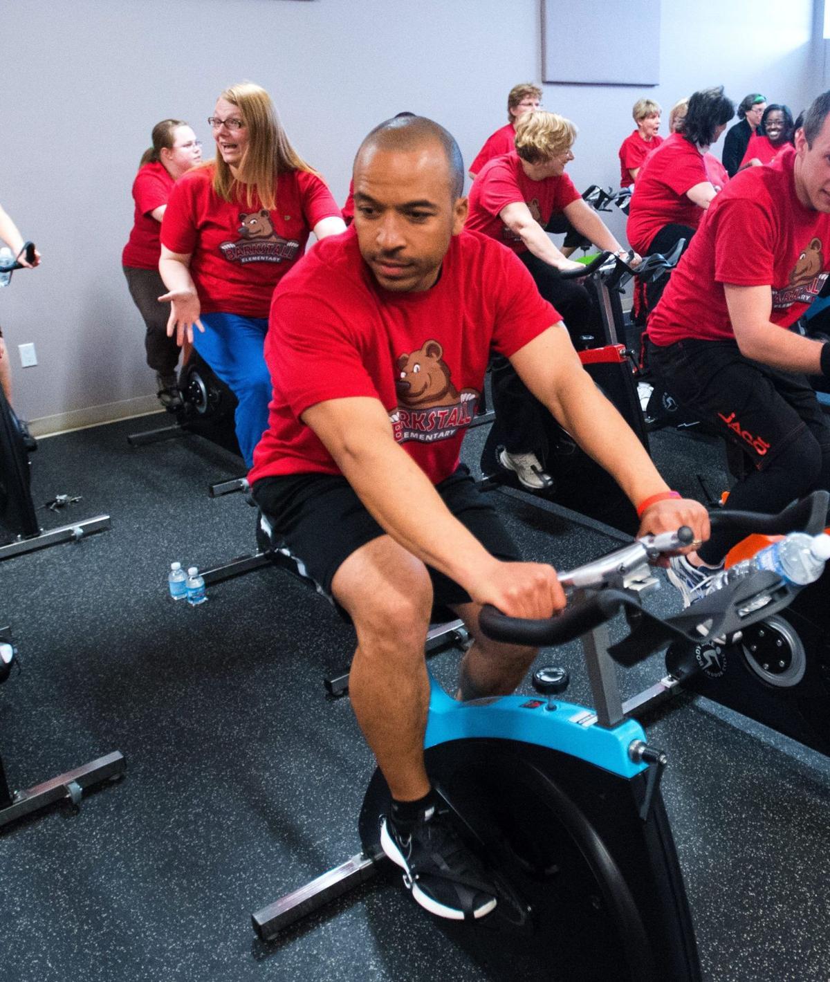 Barkstall kicks off fitness program