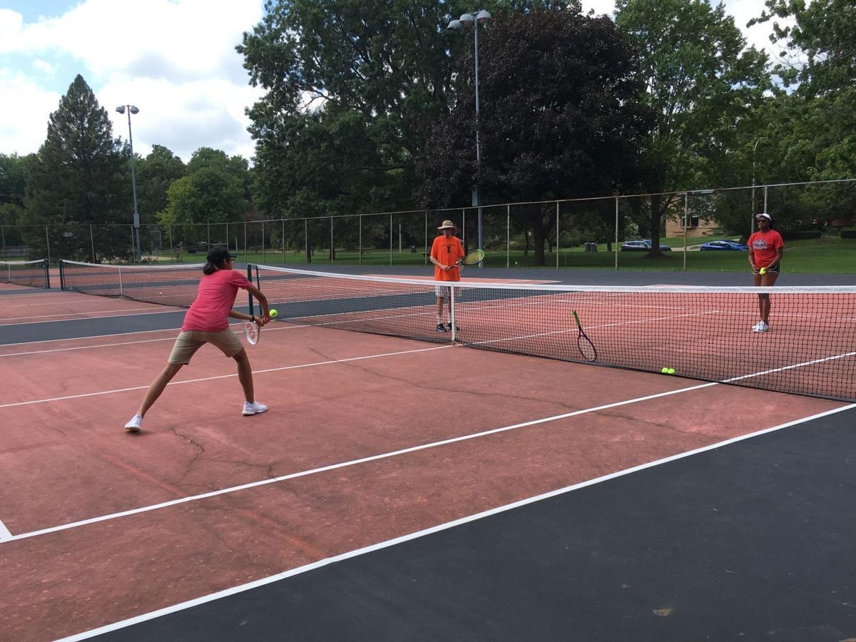 Urbana tennis 1