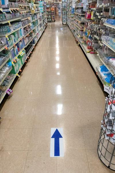 virus JA grocery stores