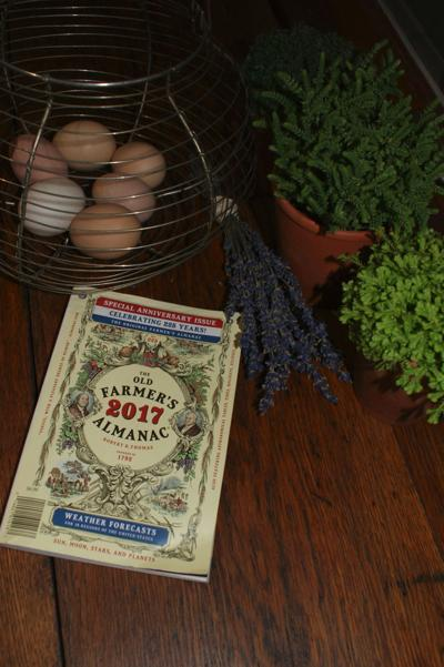 In the Garden: Our moon and 'The Old Farmer's Almanac'