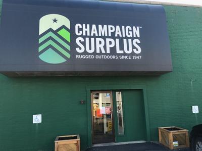 Champaign Surplus leaving downtown location